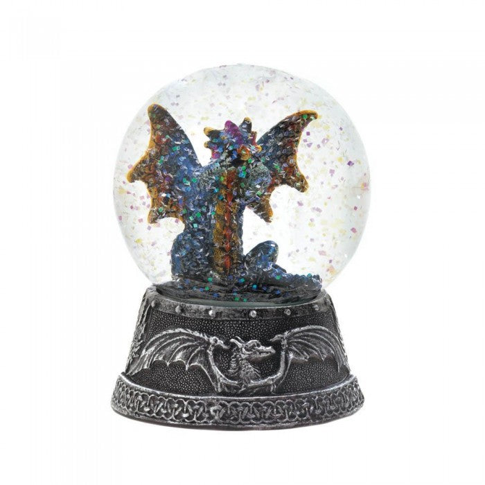 Blue Dragon Water Globe - Giftspiration