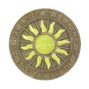 Bursting Sun Glowing Stepping Stone - Giftspiration