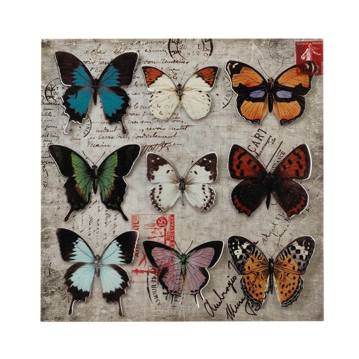 Butterfly Collage 3-D Wall Art - Giftspiration