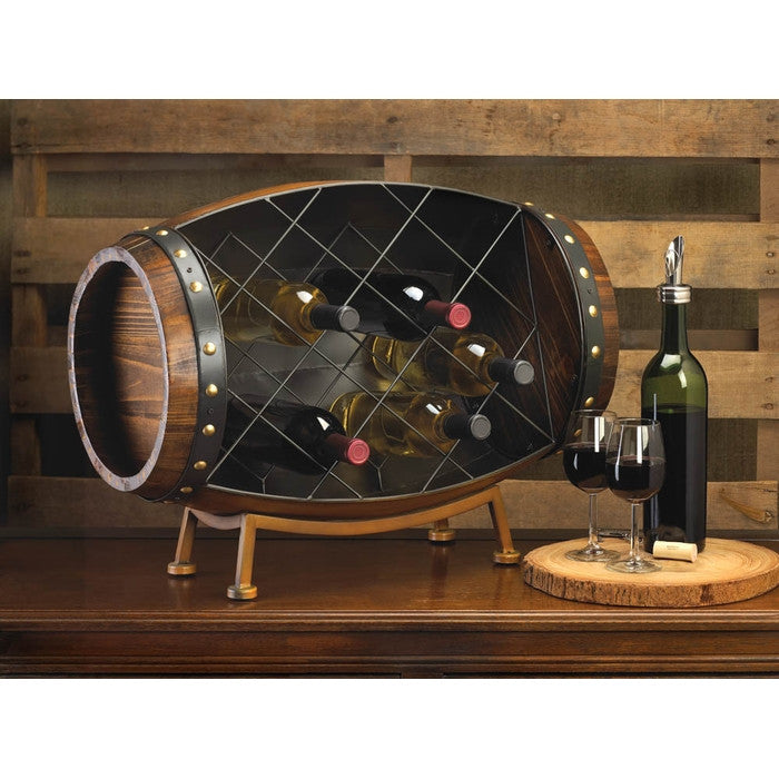Cask Wine Bottle Rack - Giftspiration