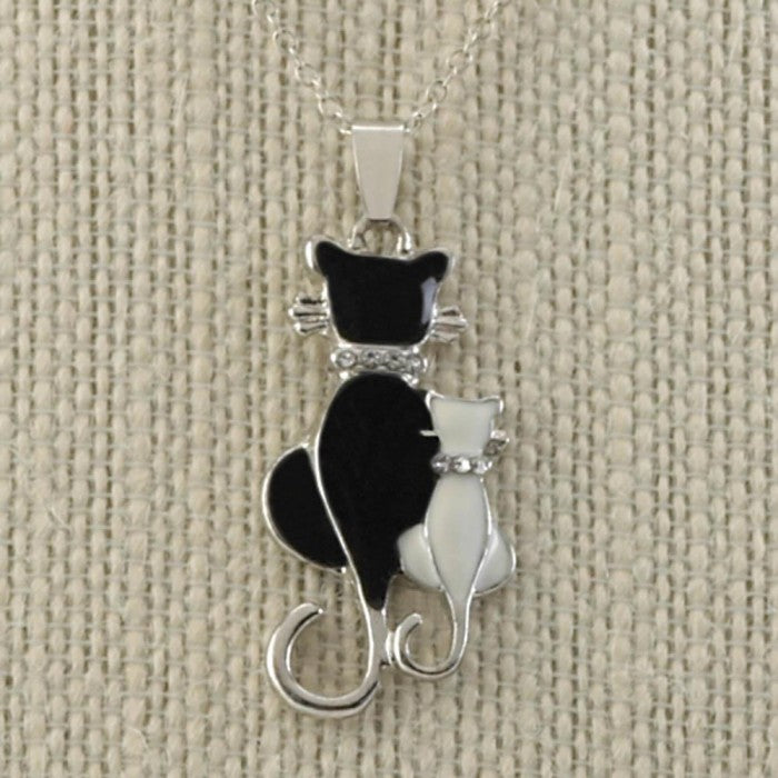 Cat & Kitten Necklace - Giftspiration
