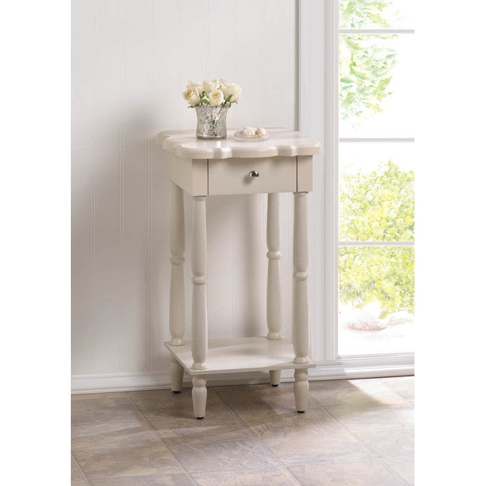 Chatham White Side Table - Giftspiration