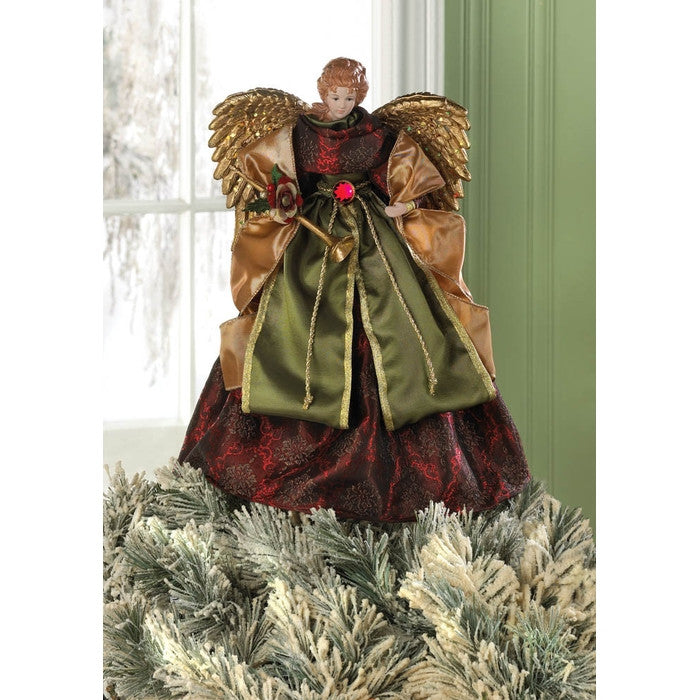 Christmas Angel Doll Tree Topper - Giftspiration