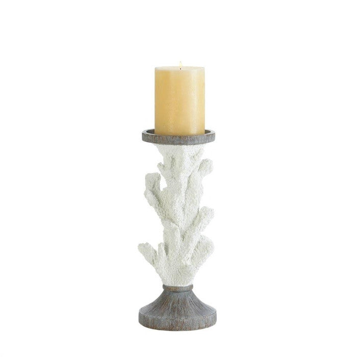 Faux Coral-Inspired Candle Holder - Giftspiration