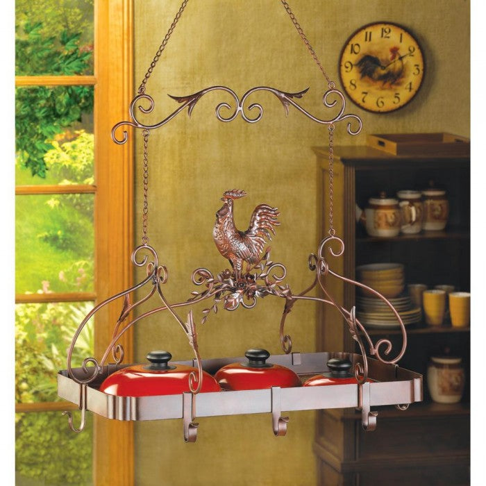 Country Rooster Kitchen Rack - Giftspiration