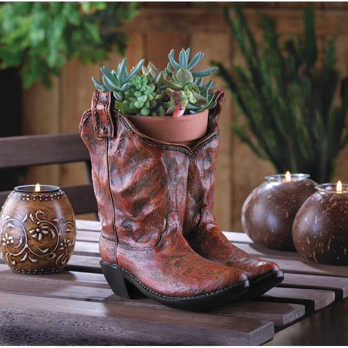 Cowboy Boot Planter - Giftspiration