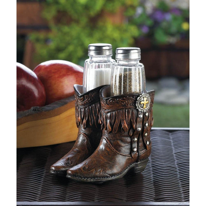 Cowboy Boots Shaker Set - Giftspiration