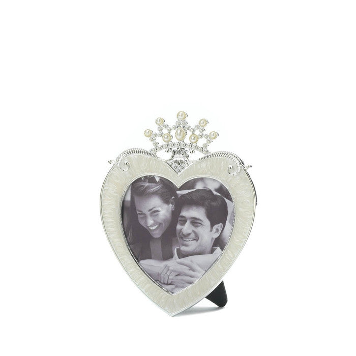Crown Heart Picture Frame 3 X 3 - Giftspiration