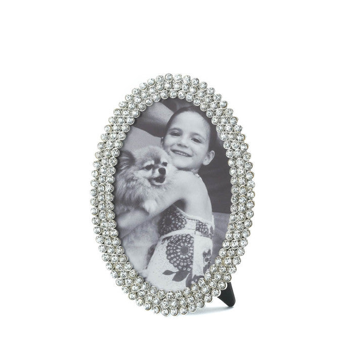 Dazzling Oval Frame 4 X 6 - Giftspiration