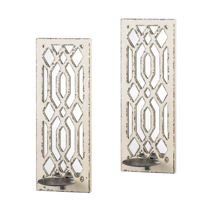 Mirrored Wall Sconce wall sconces