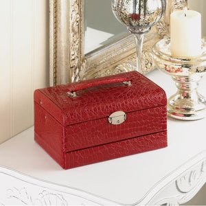 Deluxe Red Jewelry Box - Giftspiration
