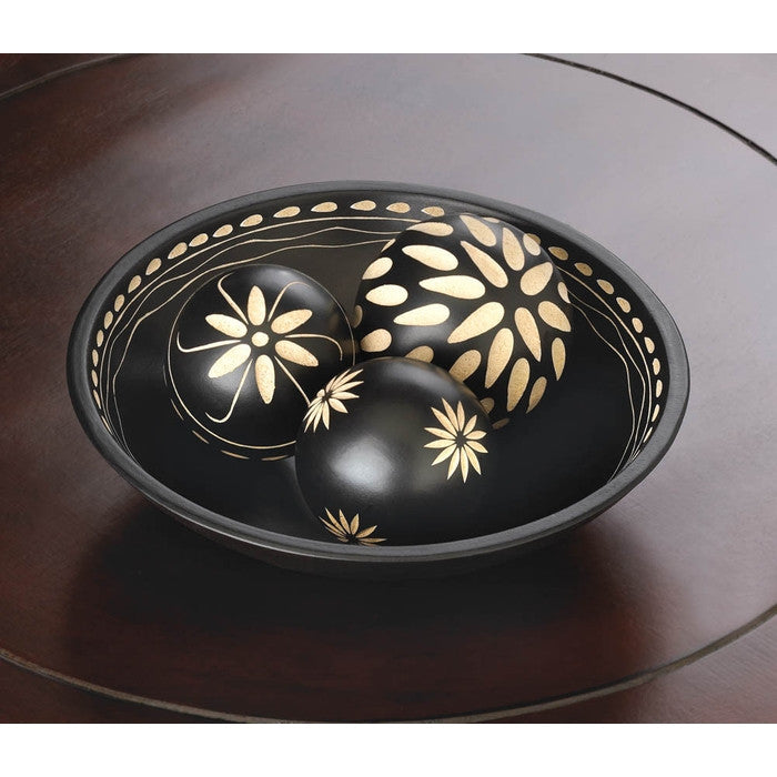 Ebony Decorative Balls Set - Giftspiration