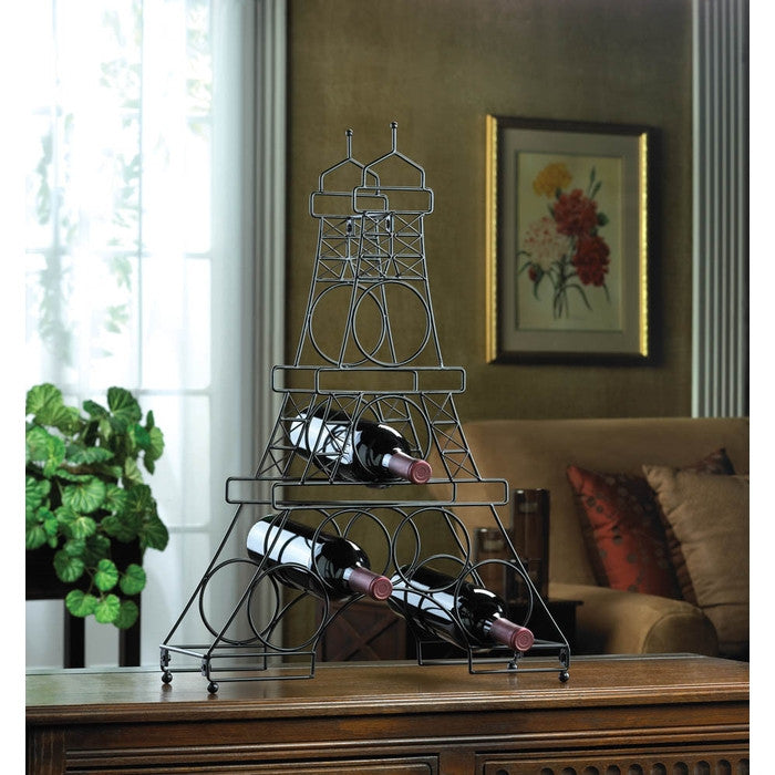 Eiffel Tower Wine Holder Rack - Giftspiration