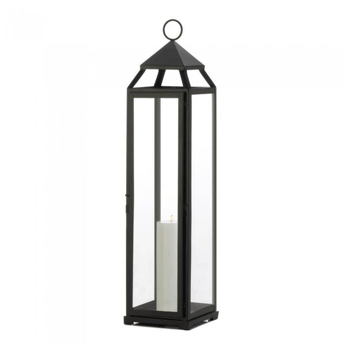 Extra Tall Black Lantern - Giftspiration