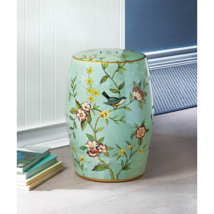Floral Garden Decorative Stool - Giftspiration
