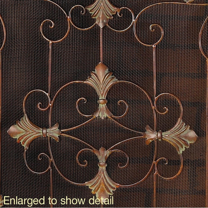 Florentine Fireplace Screen - Giftspiration