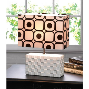 Geometric Pop Art Table Lamp - Giftspiration