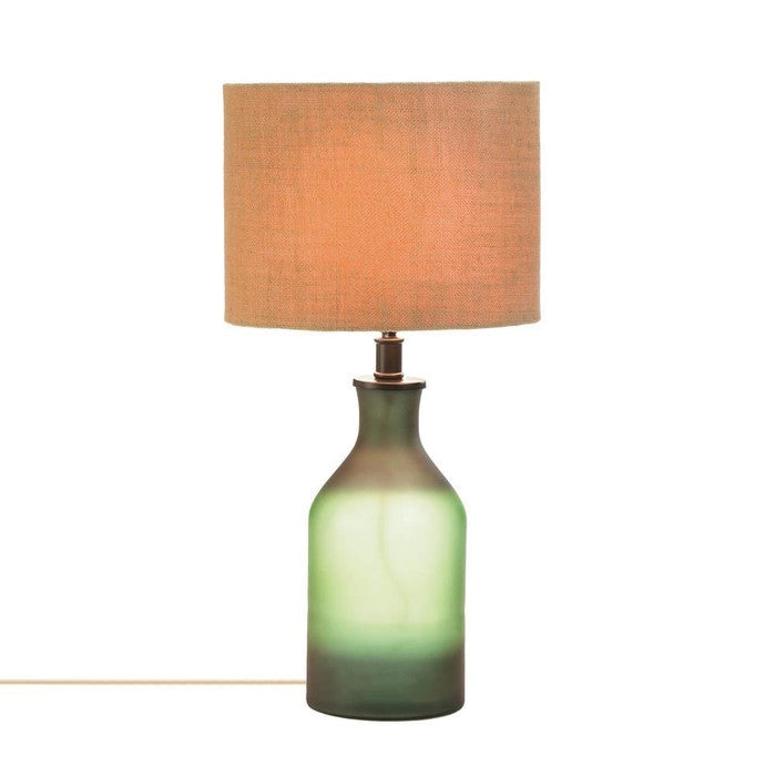 Gradient Green Bottle Table Lamp - Giftspiration