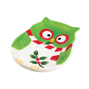 Holiday Hoot Small Plate - Giftspiration