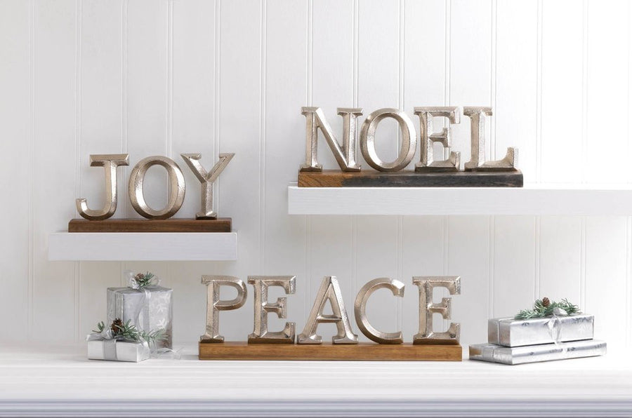 Noel Block Letter Decor - Giftspiration