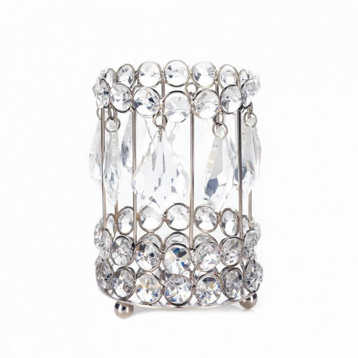 Large Crystal Drop Candle Holder - Giftspiration