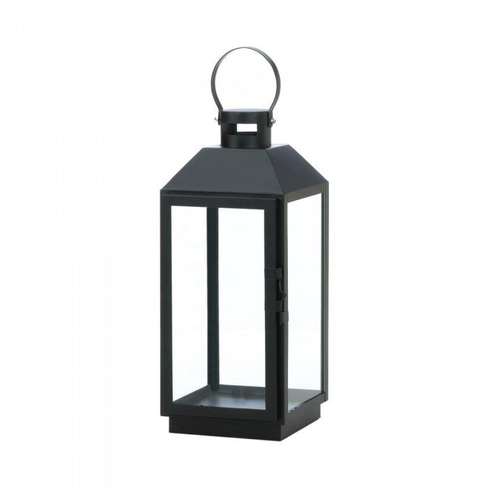 Large Ebony Candle Lantern - Giftspiration