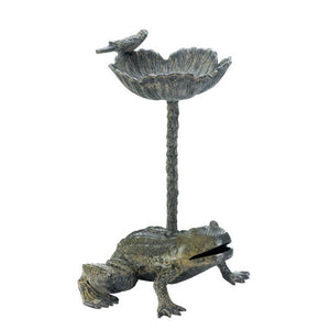 Leap Frog Bird Bath - Giftspiration