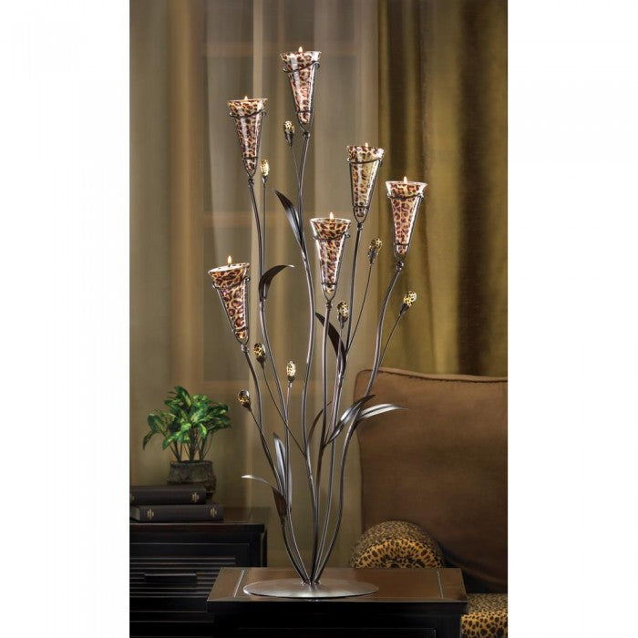 Leopard Lily Blossom Candle Tree - Giftspiration