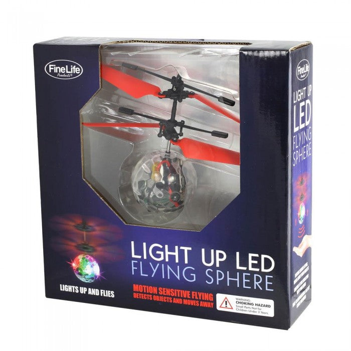 Light Up LED Flying Sphere - Giftspiration