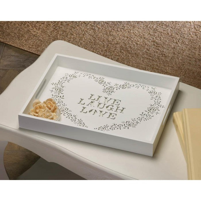 Live Laugh Love Tray - Giftspiration