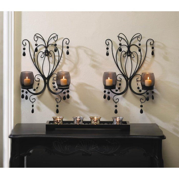Midnight Elegance Wall Sconces - Giftspiration