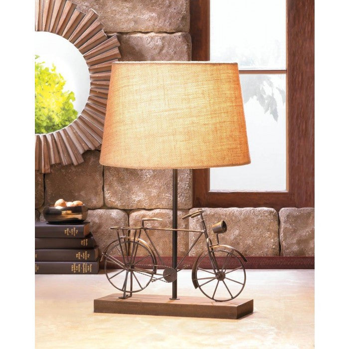 Old-Fashion Bicycle Table Lamp - Giftspiration