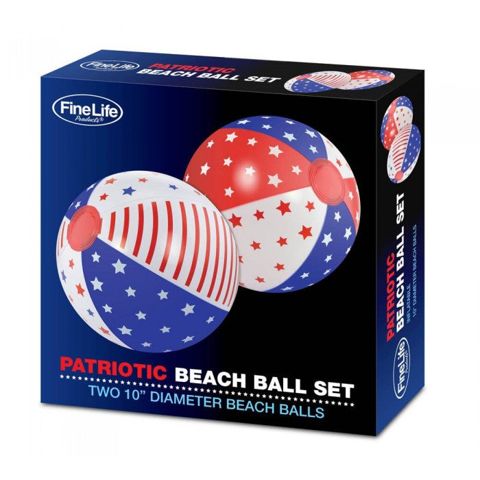 Patriotic Beach Ball Set - Giftspiration