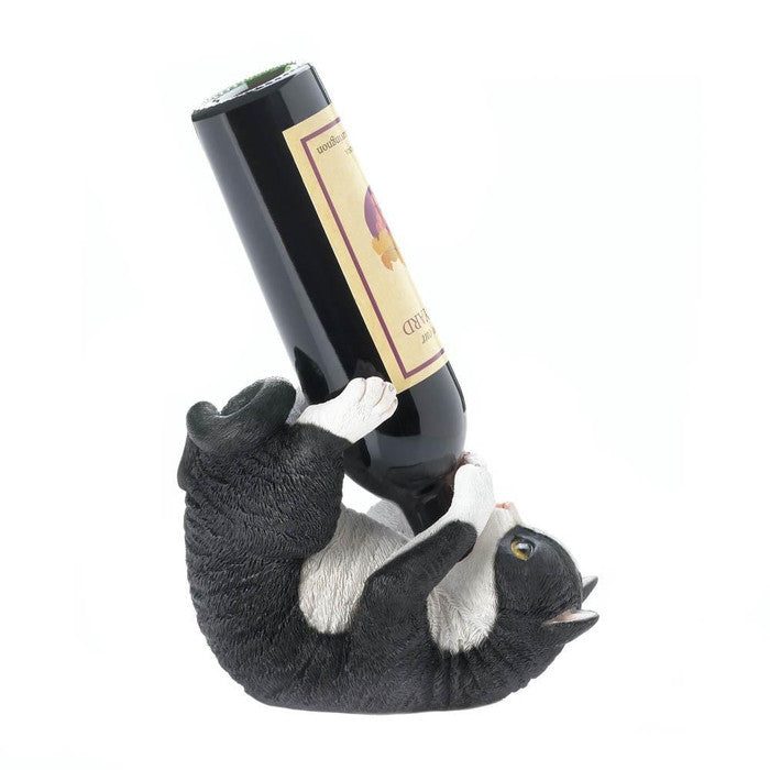 Playful Cat Wine Holder - Giftspiration