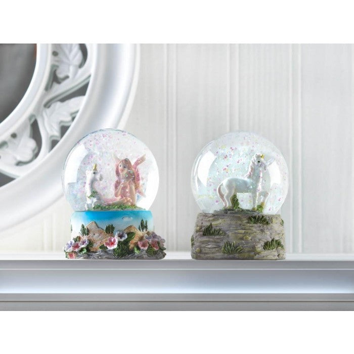 Prancing Unicorn Snow Globe - Giftspiration