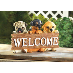 Puppy Welcome Placque - Giftspiration