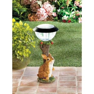 Rabbit Solar Garden Path Light - Giftspiration