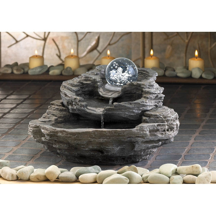 Rock Design Desk Fountain - Giftspiration