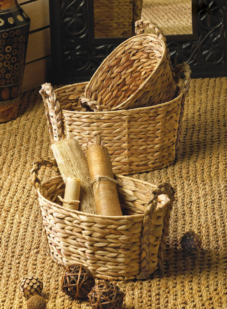 Woven Nesting Baskets - Giftspiration