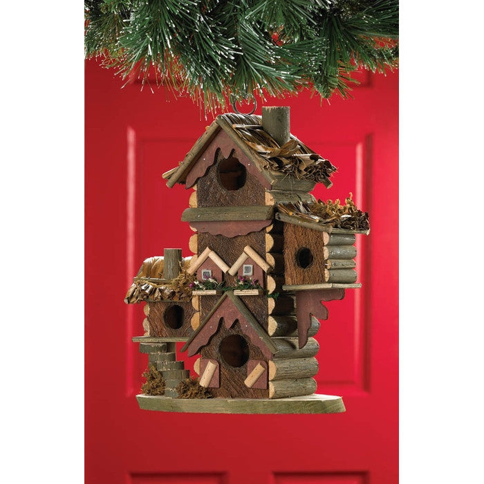 Rustic Gingerbread Style Bird House - Giftspiration