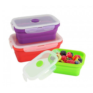 Silicone Stacker Food Container Set - Giftspiration