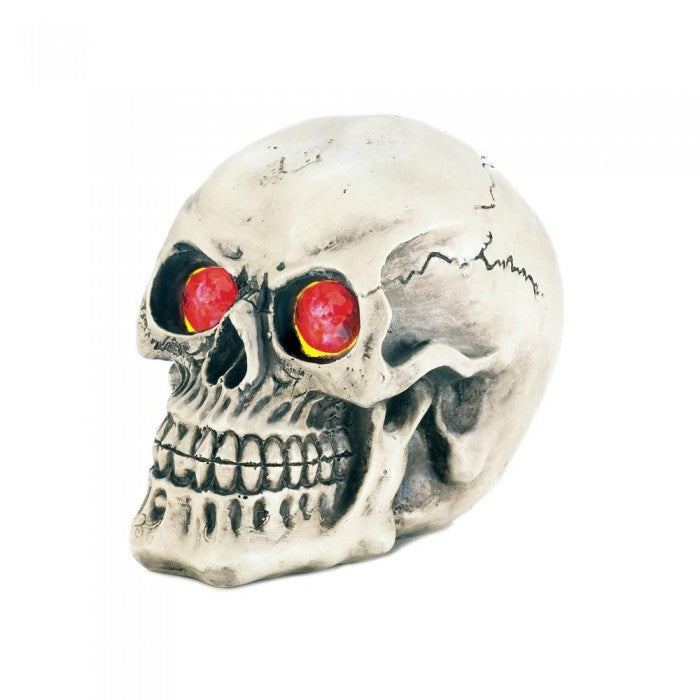 Skull with Light-Up Eyes - Giftspiration