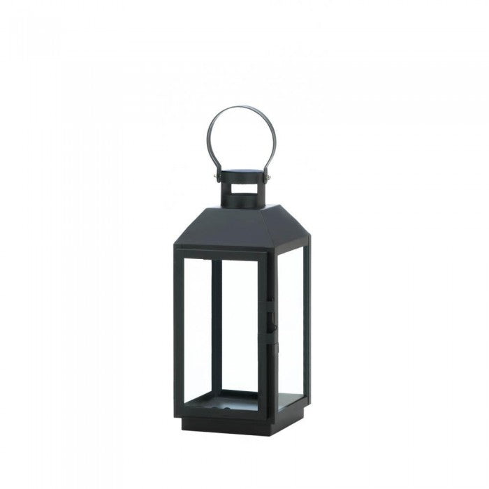 Small Ebony Candle Lantern - Giftspiration
