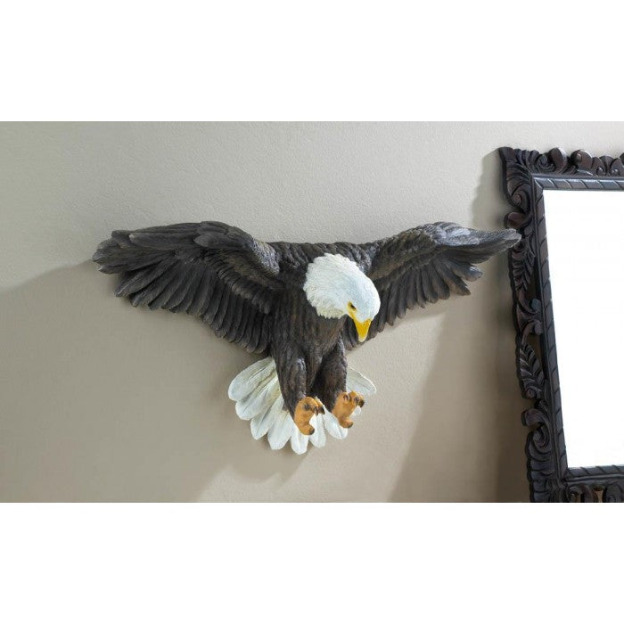 Soaring Bald Eagle Wall Sculpture - Giftspiration