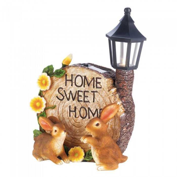 Solar Home Sweet Home Bunnies - Giftspiration