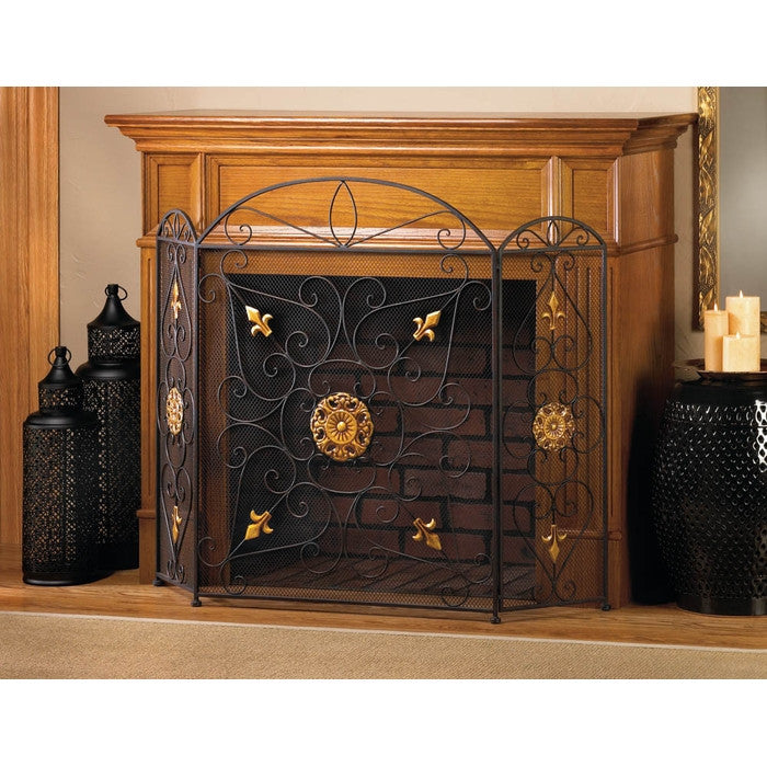Splendor Fireplace Screen - Giftspiration