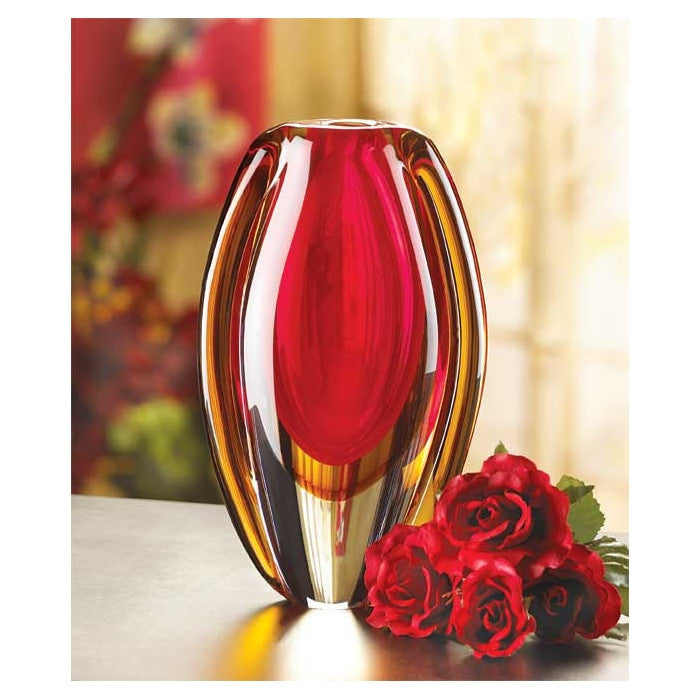 Sunfire Glass Vase - Giftspiration