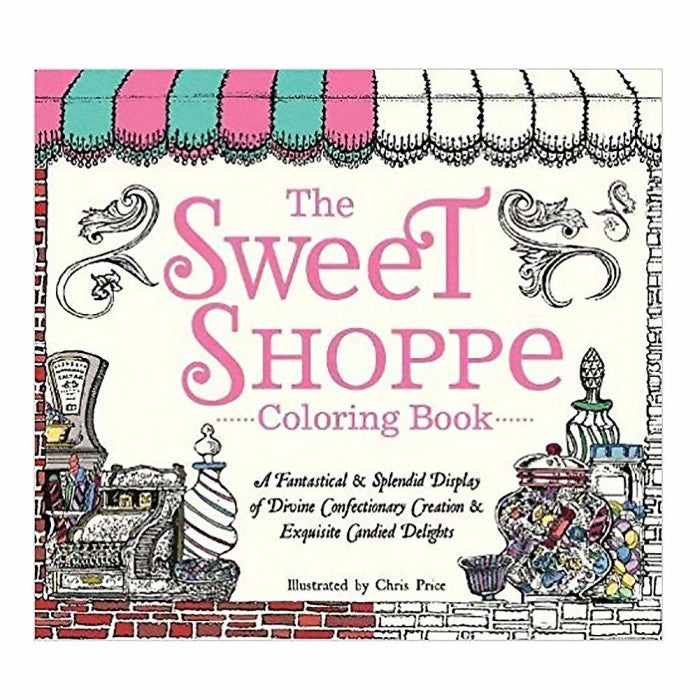 Sweet Shoppe Coloring Book - Giftspiration