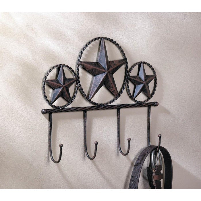 Texas Star Wall Hooks Rack - Giftspiration