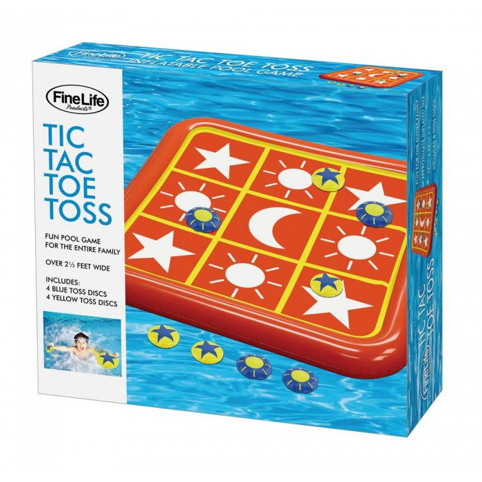 Tic Tac Toe Toss Pool Float - Giftspiration
